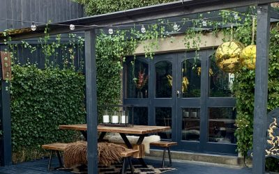 How I created my own Party Patio